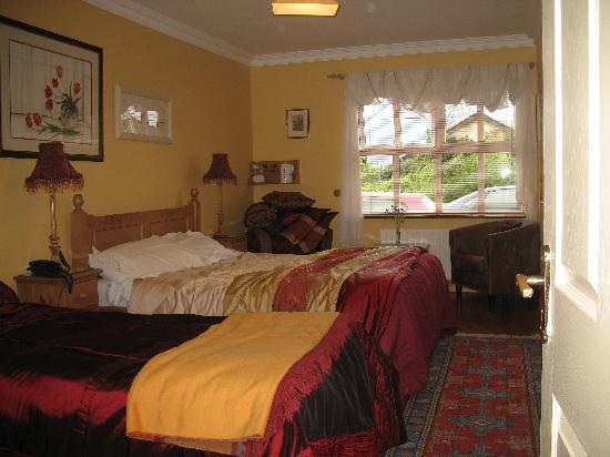 Ballyvaughan Lodge: Triple room