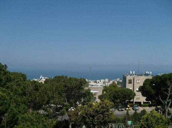 Mount Carmel Hotel: View from the room