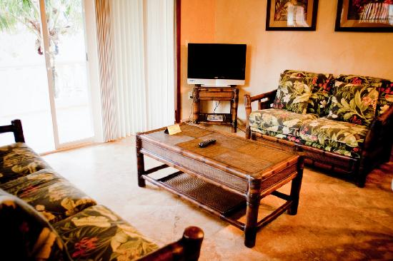 Infinity Bay Spa and Beach Resort: Spacious living room
