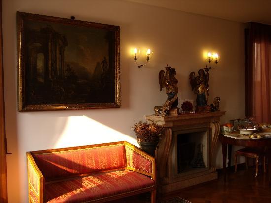 Ca' Angeli: Angolo zona soggiorno