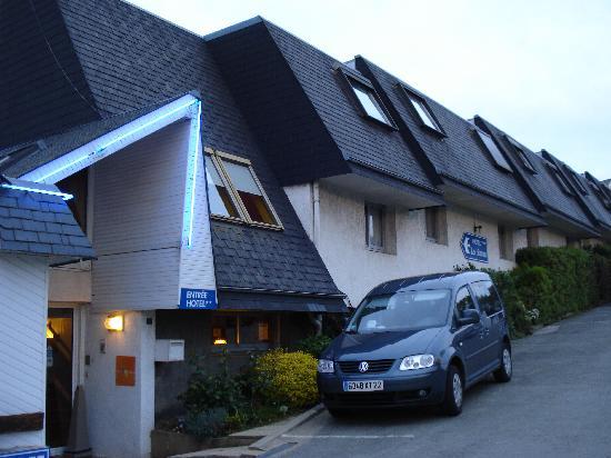 Hôtel Les Sternes : l'entrée la partie récente