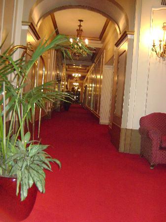 Carsson Hotel: Ingreso al recepcion