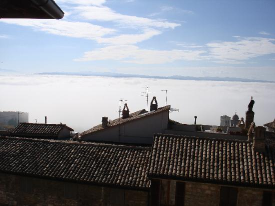 Palazzo Minciotti: View from the living room---above the clouds!