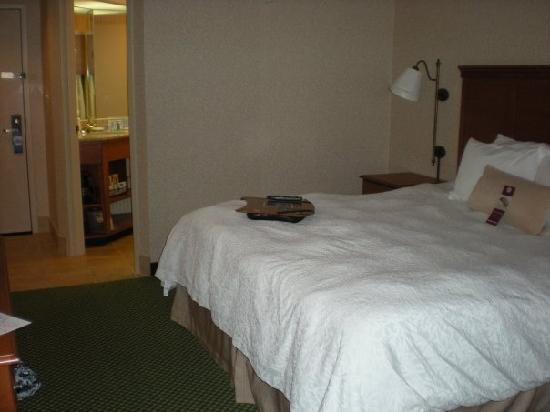 Hampton Inn Toledo South Maumee : Room Facing Door