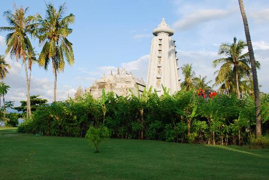Hotel Tugu Lombok: Dine at the Temple