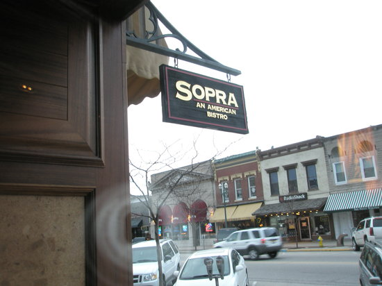 Sopra: An American Bistro: Entrance