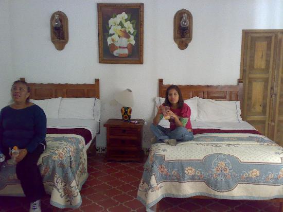 Meson Del Rosario: las camas