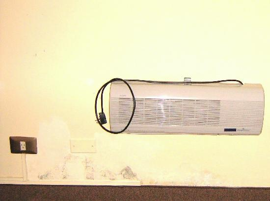 Imperial Cusco Hotel: Wall Heater