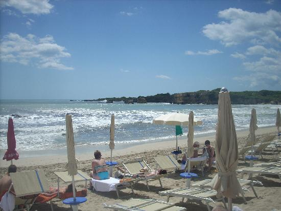 Hotel Fontane Bianche Beach Club : spiaggia