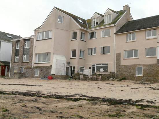 Schooners Hotel: On the Beach Hotel.  Rooms with a View Schoooners Hotel St Mary's