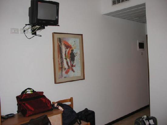 Hotel Aragosta: Camera vista dalla porta del terrazzo