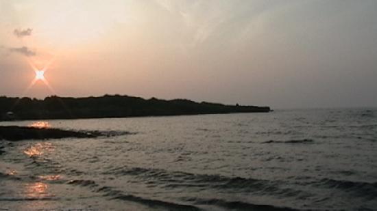 Pahala, Hawaje: sunrise on beach