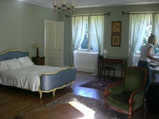 Chateau de la Buronniere: Our second bedroom.