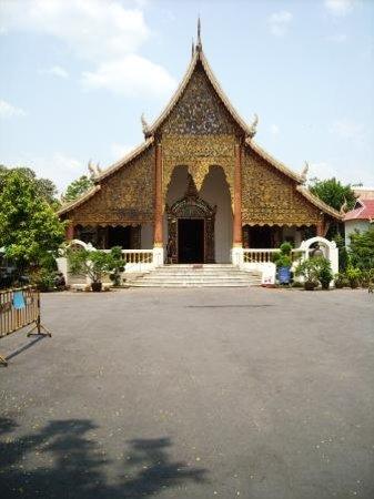 l'un des temples de Chiang Mai