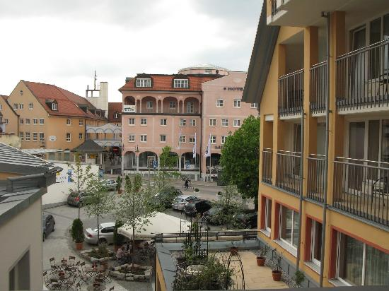 Hotel Sonne: dal balcone