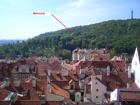 Nebozizek: view from town
