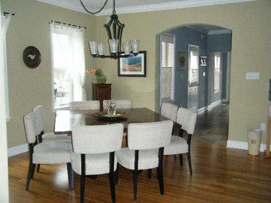 Savannah Inn: Dining area- Breakfast room