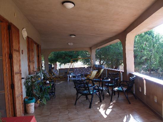 Villa Robbabate: veranda