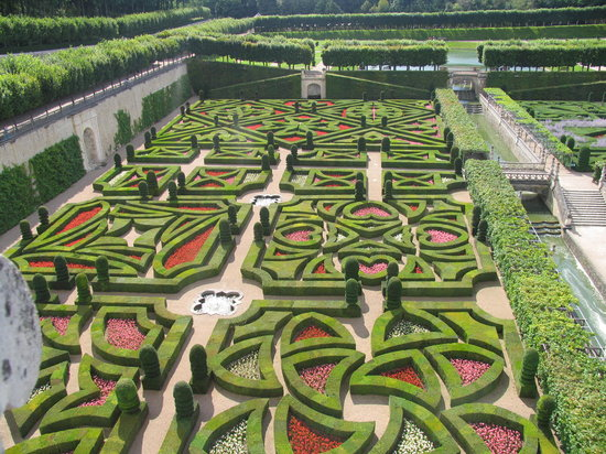 Loire Valley, Frankrike: The Gardens of Villandry