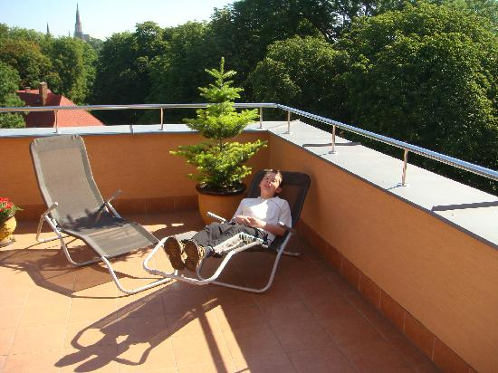 Hotel Alley Olomouc: Hotel Alley - terrace