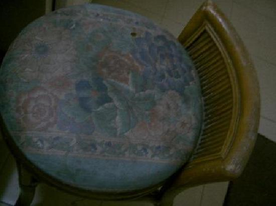 Villa Margarita: seat is old and dirty