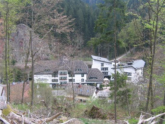 Hotel Sackmann: Hôtel vu d'en haut