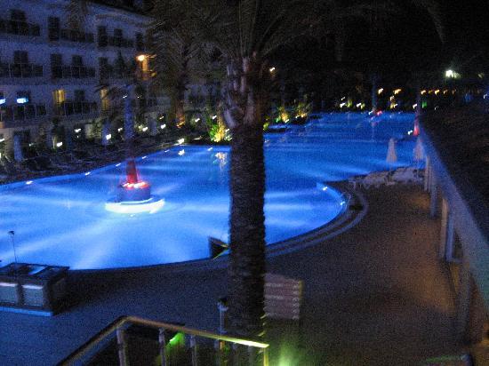 Dionysos Hotel Sports & Spa: amazing balcony views