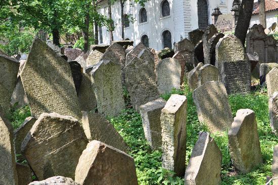 Hotel Residence Retezova: Josefov - Jewish Cemetery