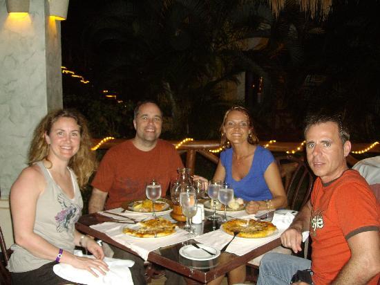 Grand Palladium Colonial Resort & Spa: petit souper entre amis au resto italien