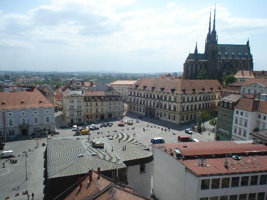 Old Town Hall: View of Zelny Trh from Tower