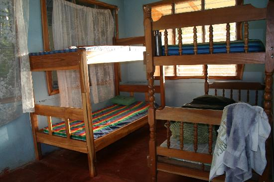 Curu National Wildlife Refuge: bunk beds