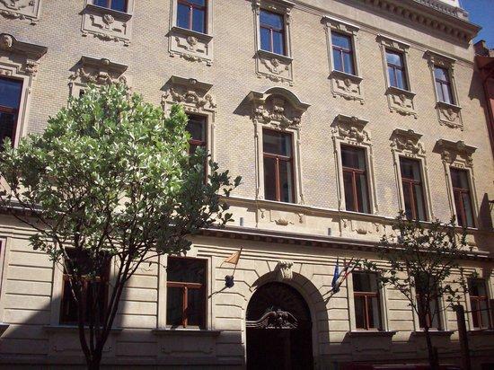 Hotel Palazzo Zichy: Esterno dell'Hotel Zichy