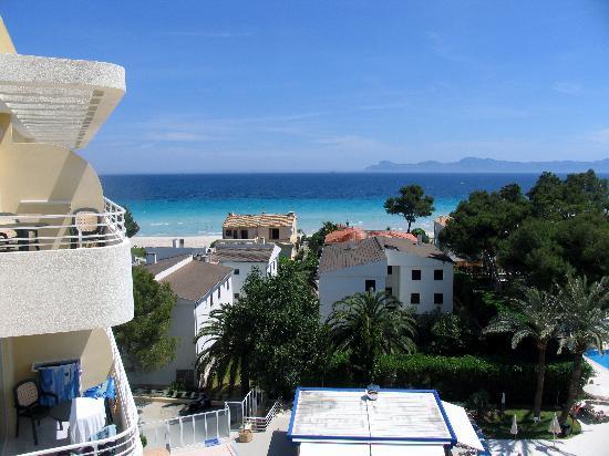 Hotel Apartamentos Ivory Playa: Blick vom Balkon