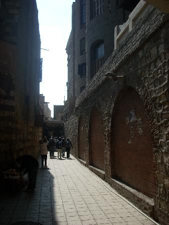 Church of St. Barbara: The Old City is a warren of ancient narrow streets and alleys.