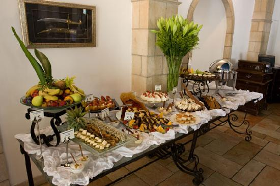The Courtyard: The desserts ( buffet on saturday)