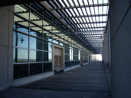 Wildwood, Nueva Jersey: Outdoor Terrace of the Center - Leads to the Ocean