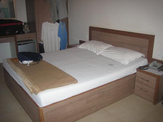 Hotel Beach Garden: Inside of room