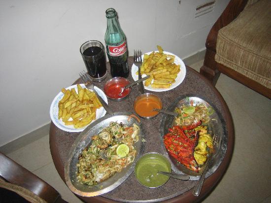Hotel Beach Garden: The lovely food!
