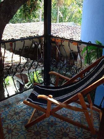 La Islita Boutique Hotel: Private balcony off of room
