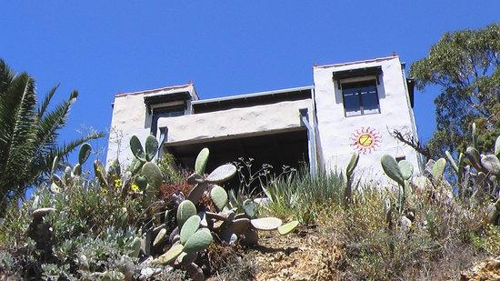 Zane Grey Pueblo Hotel: Closer up view of the Zane Grey
