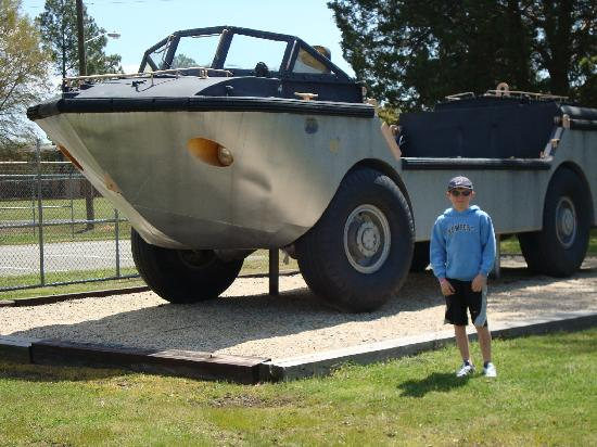 U.S. Army Transportation Museum: Hover car