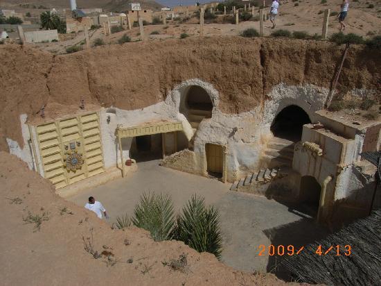 Matmata, Tunisia: ロケ地に使用されたシディ・ドリス・ホテル