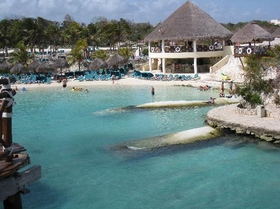 Occidental At Xcaret Destination Man Made Beach Area