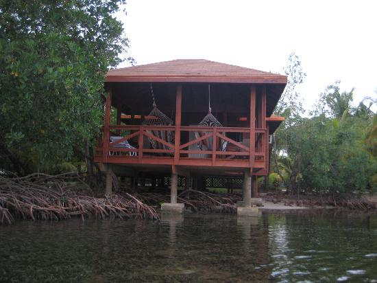 Anthony's Key Resort: Cabin 52 from a kayak