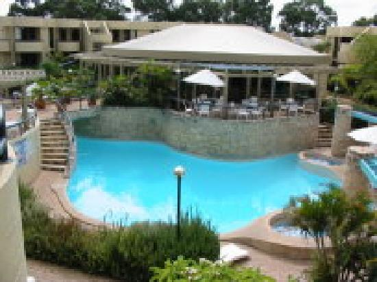 resort outdoor pool picture of silver sands resort. Black Bedroom Furniture Sets. Home Design Ideas