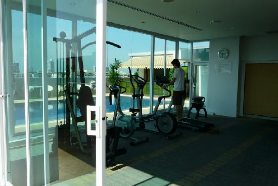 The Tivoli Hotel: Rooftop Gym
