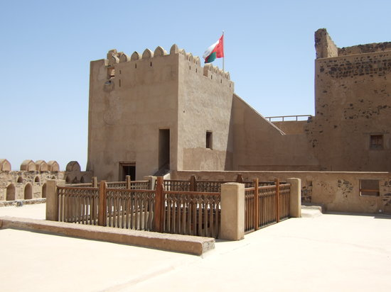 Maskat, Oman: Fort near Najwa