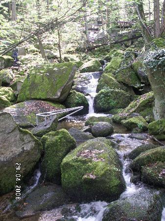 Schwarzwaldhochstraße: Gaisholl Waterfall