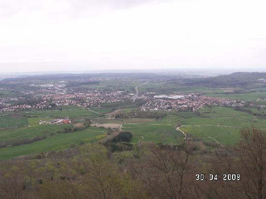 Hechingen, Germany: View from the castle