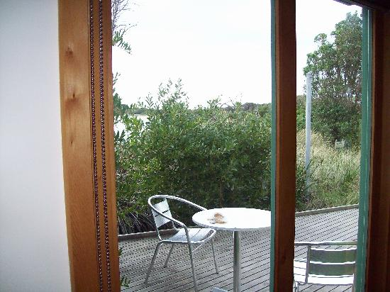 Beachside Retreat West Inlet: View from Sandpiper Ecocabin
